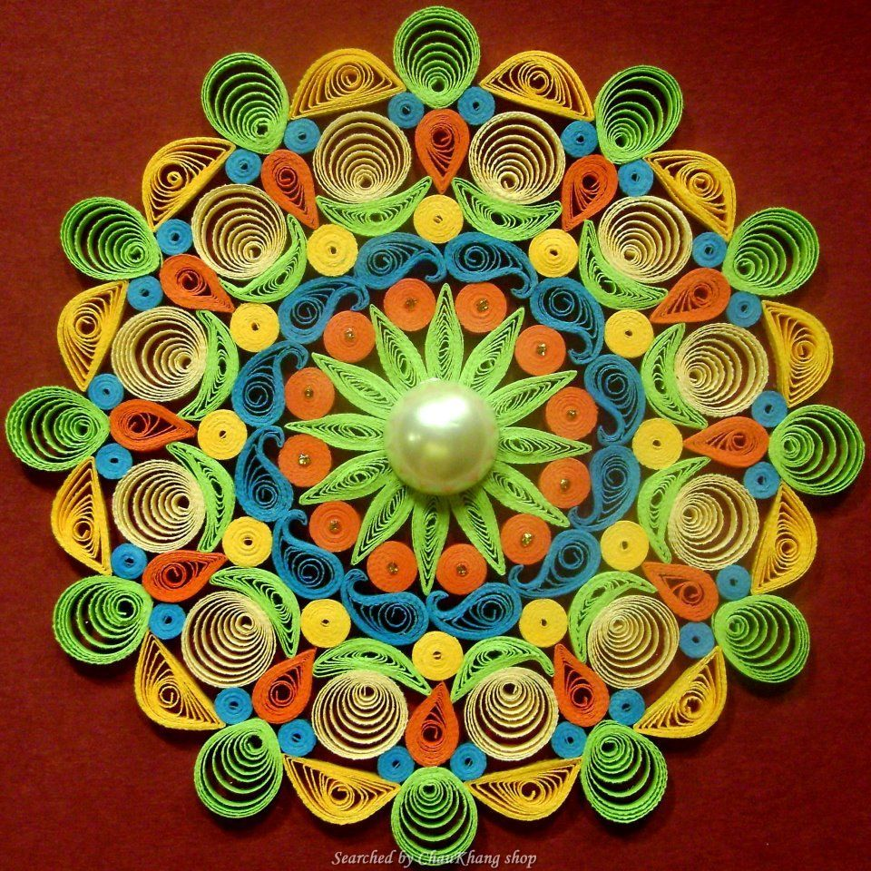 ©Aadyaa - Quilled decorative circles pictures (Searched by ChauKhang)