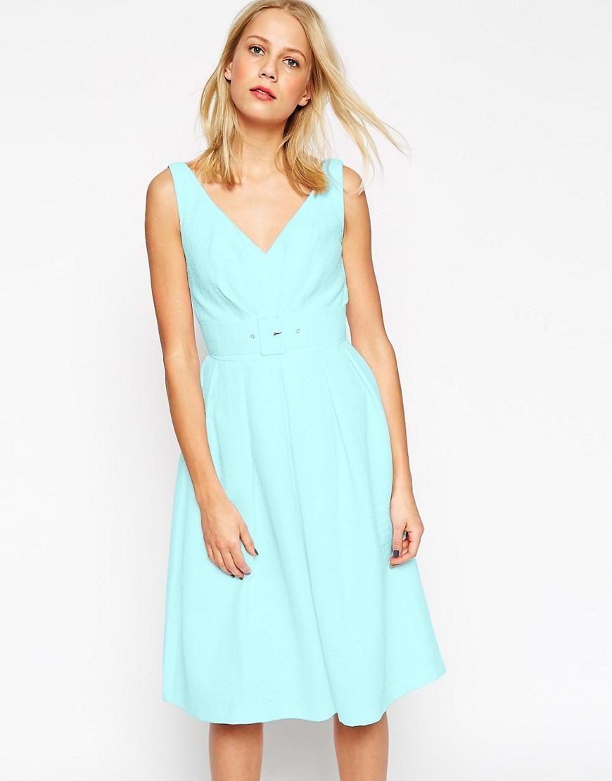 ASOS | ASOS - Prom dress anni '50 con cintura su ASOS