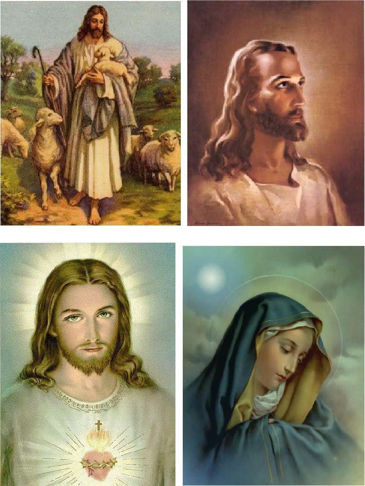 Lot Of 6 Religious Jesus Mary Fabric Panel Quilt Squares. $6.99 ... : religious quilting fabric - Adamdwight.com
