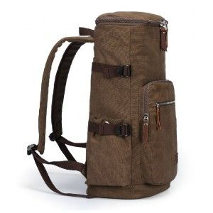 coffee Canvas backpack men