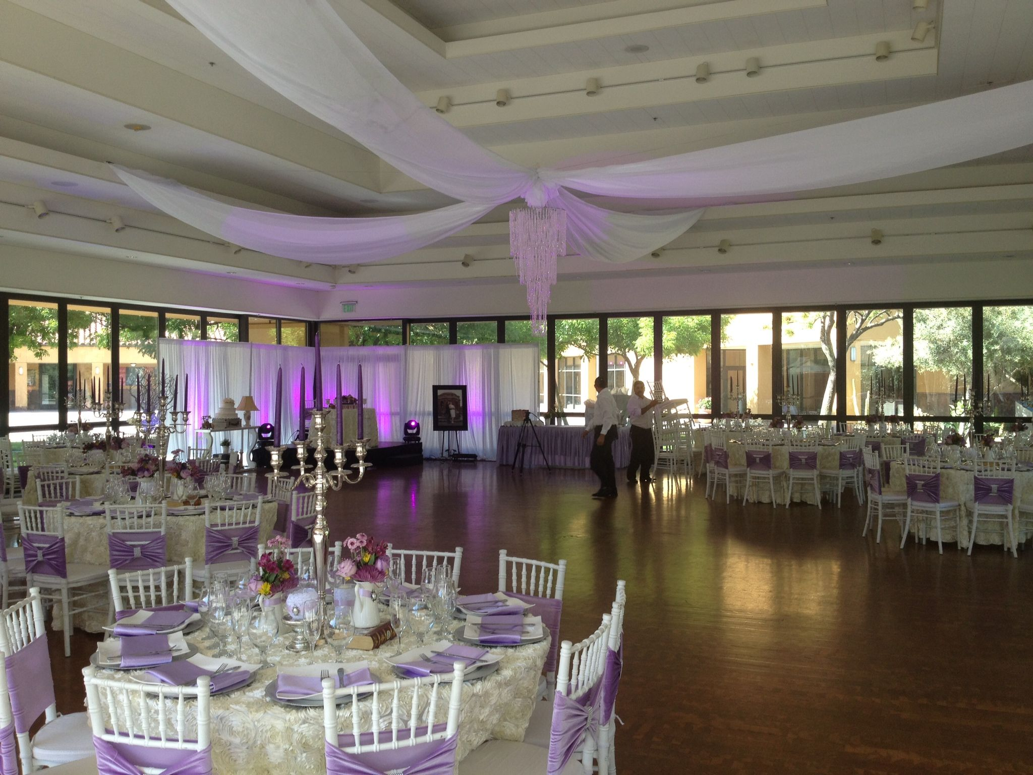 Wedding Reception At The Mexican Heritage Plaza Pavilion Setup Decoration By Dreams Of A Queen
