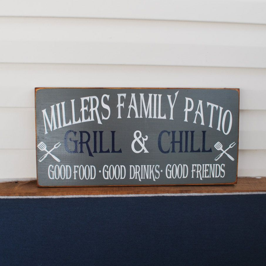 I Do Bbq Wedding Reception Porch Signs Outdoor Sign Patio Rules Grill Master By Jcw On