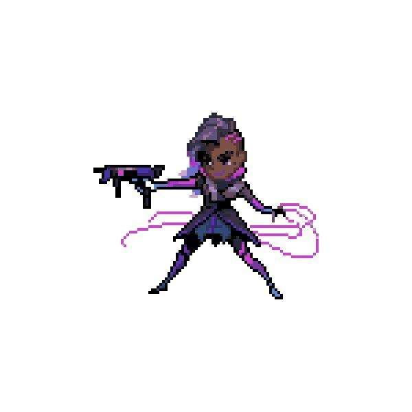 All Overwatch Pixel Sprays Transparent Png Format Pixel Characters Pixel Art Overwatch