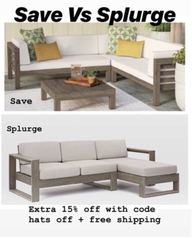 West Elm Patio Furniture Portside