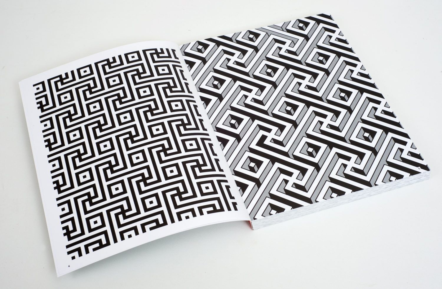 The patterns in this book feature interlocking manji inspired by the  classic sayagata, a pattern found commonly within Indian architecture, ...