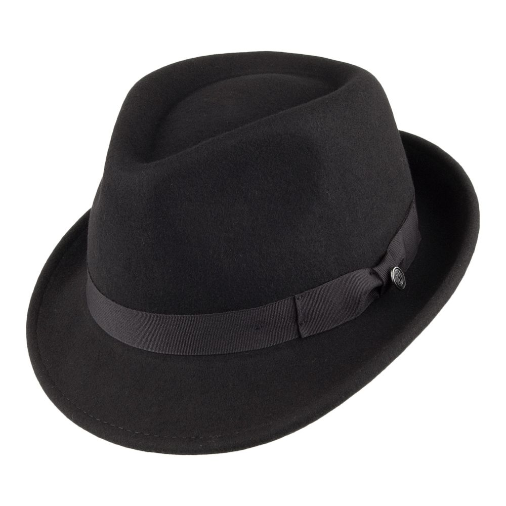82aac2878 Jaxon & James Detroit Trilby Hat - Black | hats | Trilby hat, Hats ...