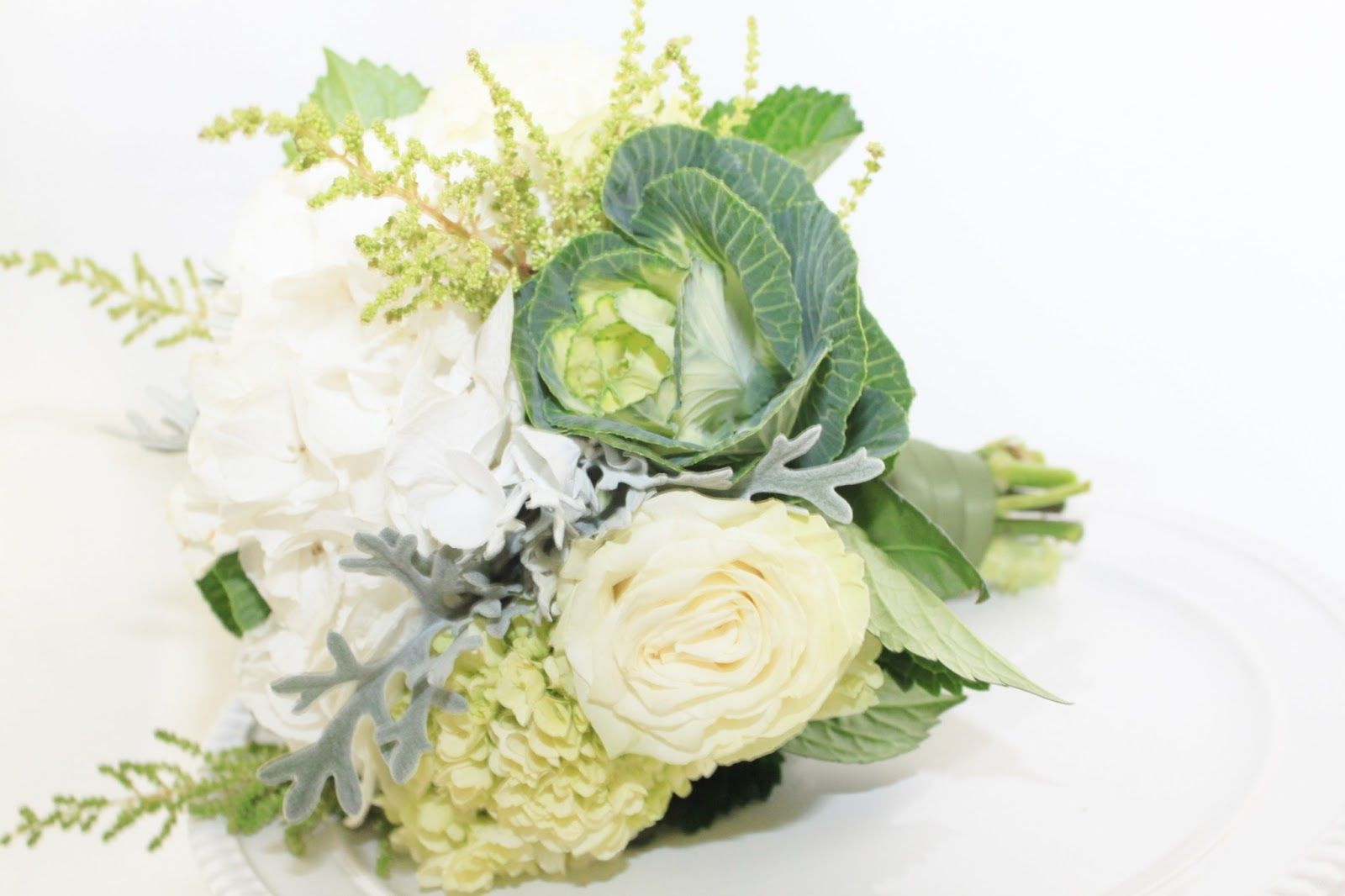 Bridesmaidbouquetg 16001066 Kale Ornamental Cabbage Wedding