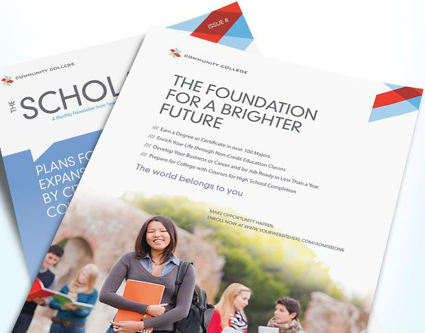Grow student enrollment with eye-catching marketing materials. Get ...
