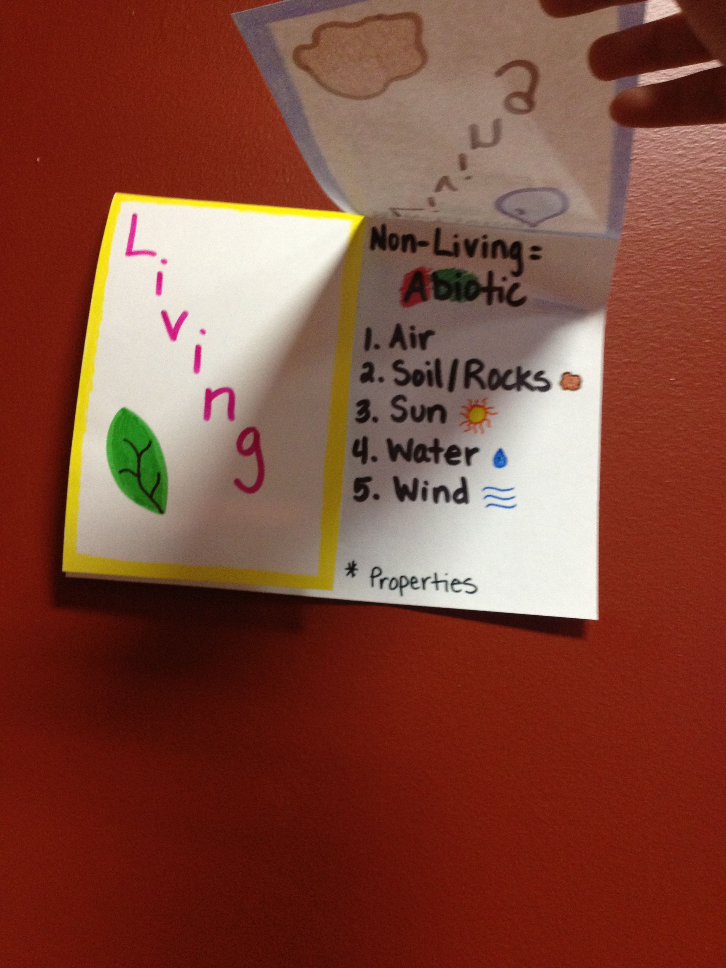 Science Foldable Cscope Conference Living And Nonliving