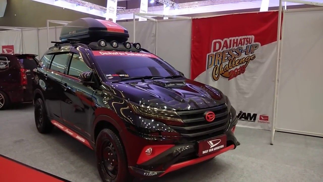 Modifikasi Mobil Terios Terbaru Modifikasi Mobil Mobil Daihatsu