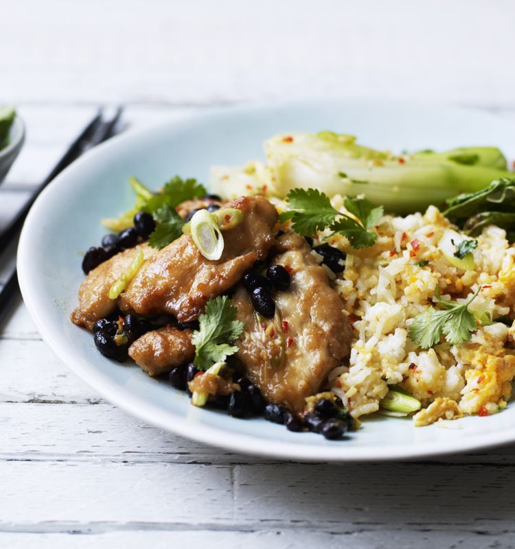 Chicken and black bean sauce with bok choi recipe recipes chicken and black bean sauce with bok choi recipe recipes pinterest black bean chicken fried rice and rice forumfinder Image collections