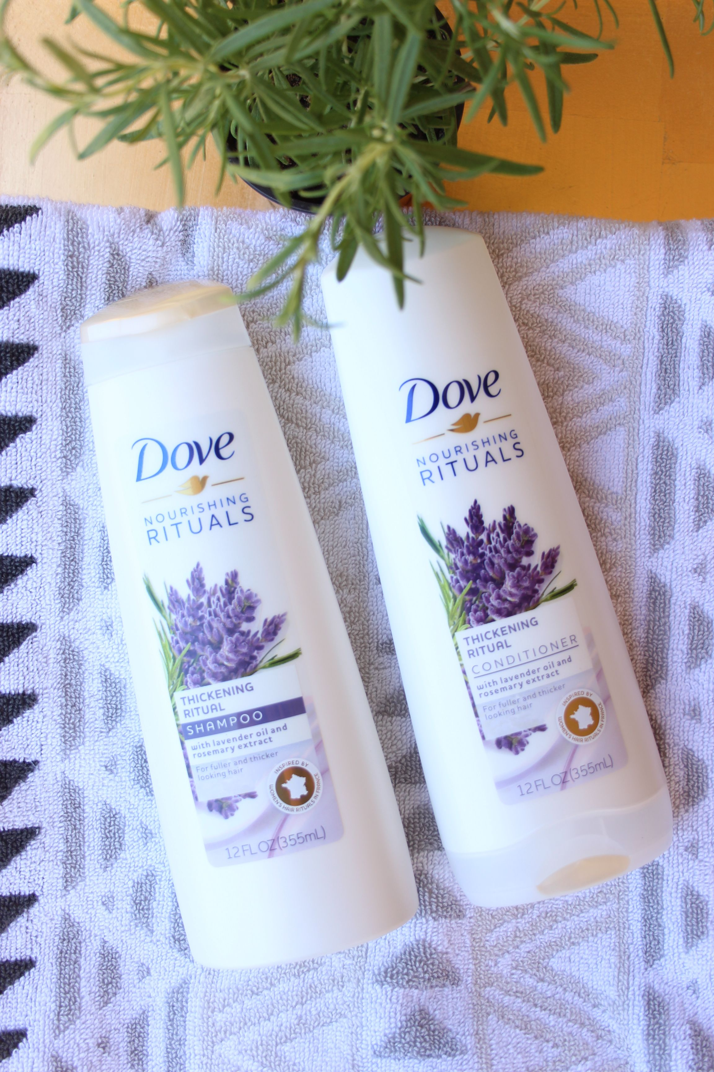 Easy Hair Care Routine with Dove My Highest Self ad