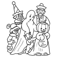 Halloween Coloring Pages Free Printables Momjunction Halloween Coloring Halloween Coloring Pages Halloween Coloring Pictures