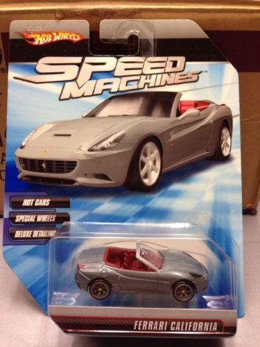 Sold For 16 95 2010 Hot Wheels Speed Machines Ferrari