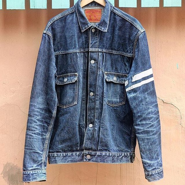 62f1a29e158 This Momotaro denim jacket fades perfectly  jeans  rugged  blue  indigo   menswear  fashion  clothing