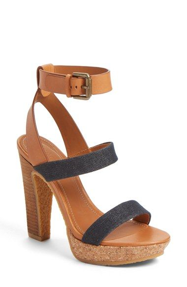 See by Chloé 'Edith' Ankle Strap Sandal (Women)