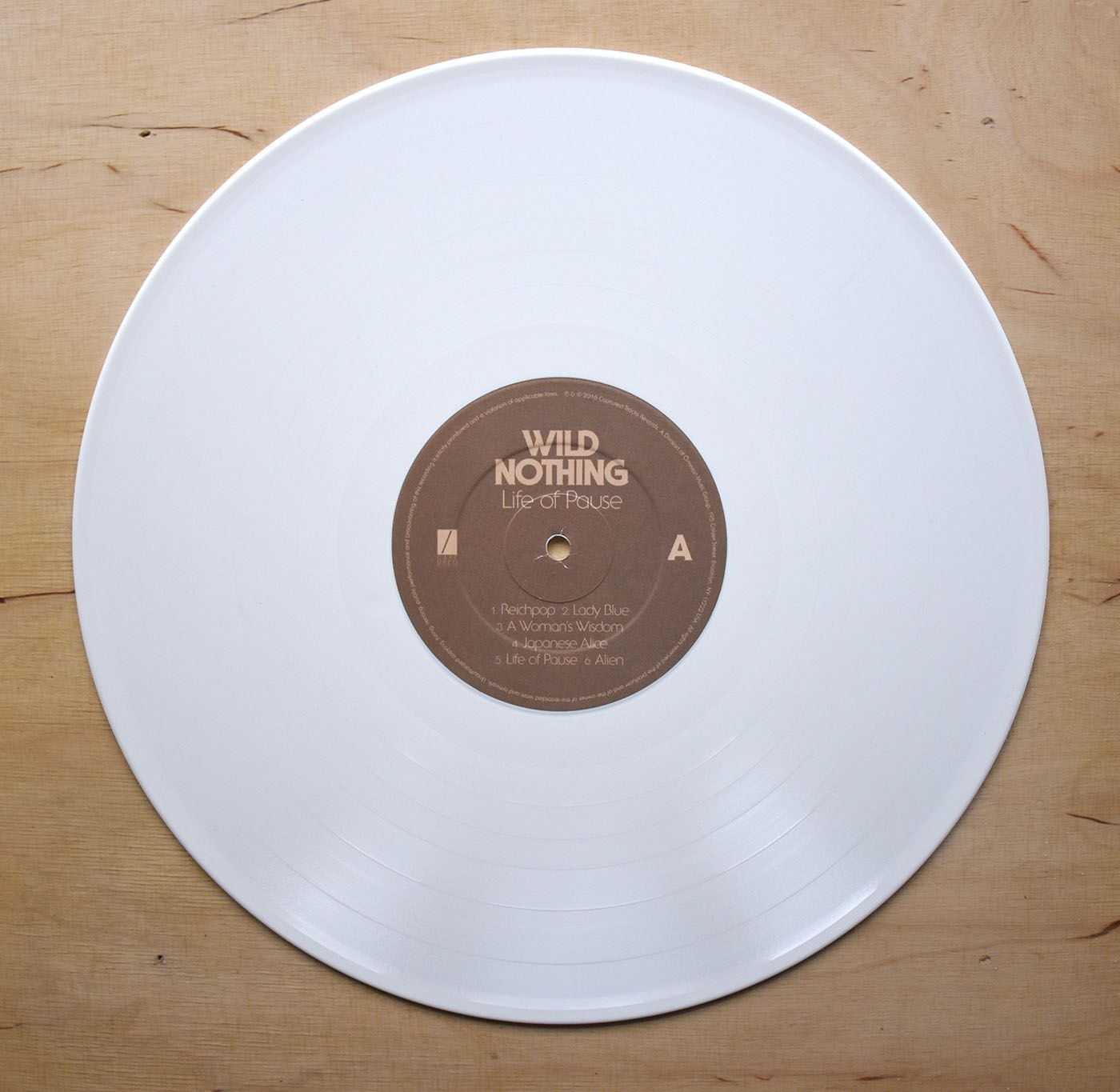 Wild Nothing Life Of Pause Deluxe White Vinyl Lp 12 Inch Wild Nothing White Vinyl Vinyl