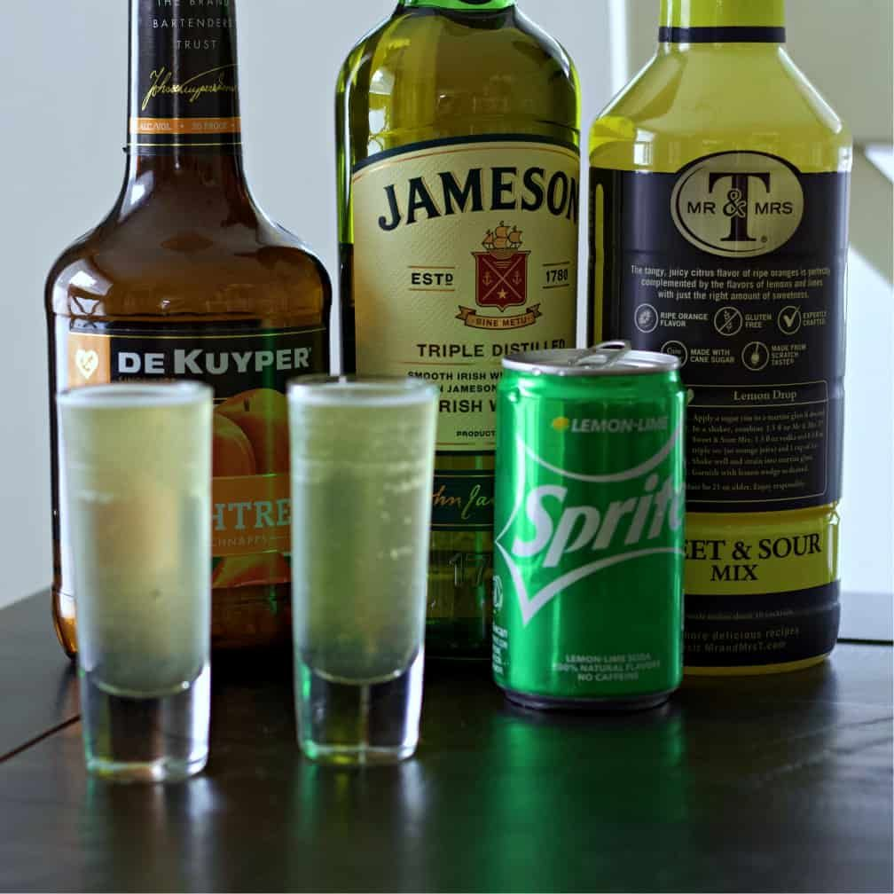 Jameson Green Tea Shot Recipe Green Tea Shot Green Tea Drinks Shot Recipes