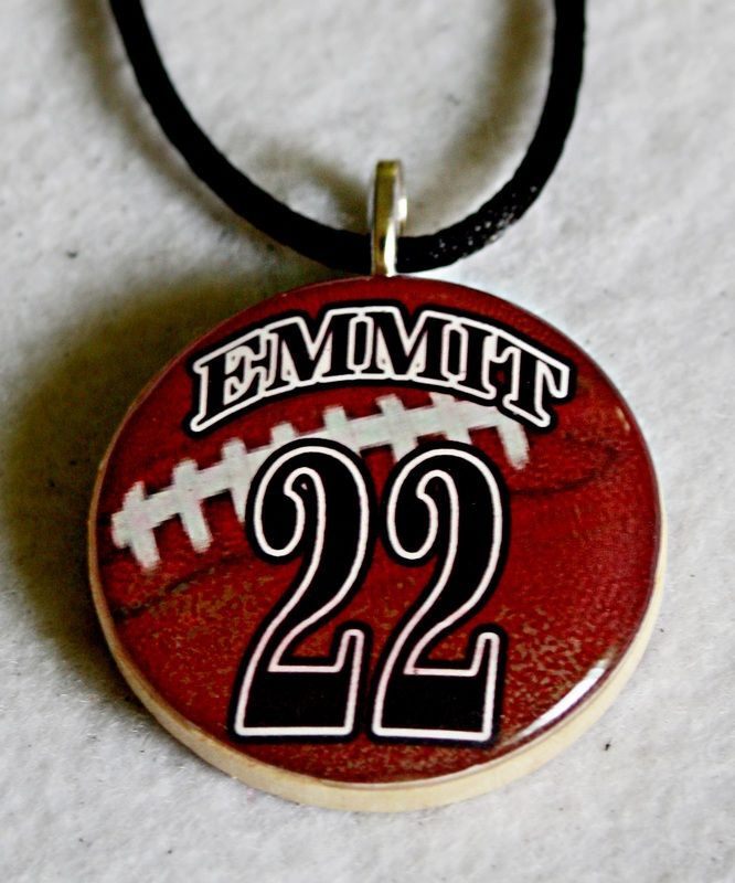 Personalized football necklace sports pendants sherrolls personalized football necklace sports pendants sherrolls designs 1000 with free shipping mozeypictures Gallery