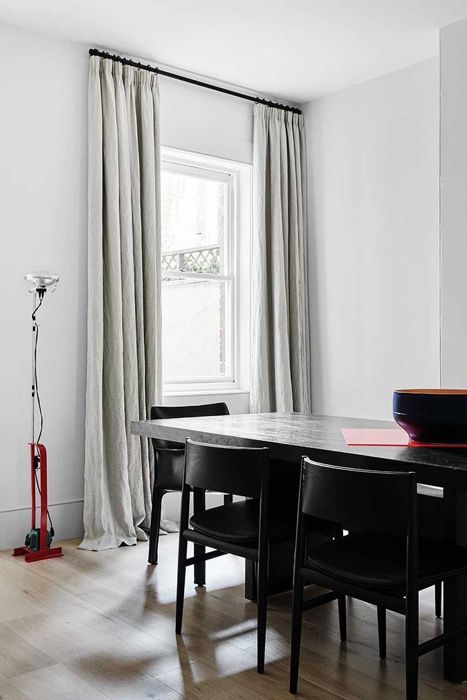 Flack Studio   Pencil Pleat Linen Curtains #bqdesign #linen #curtains