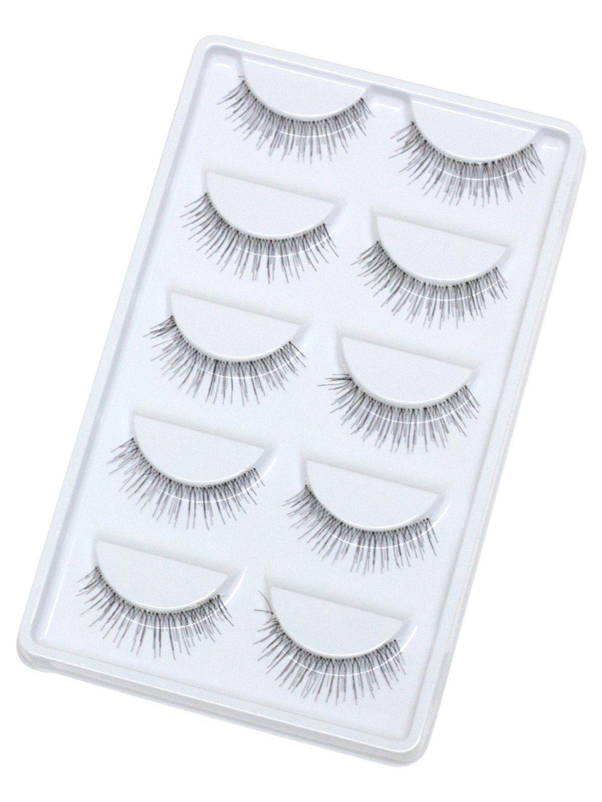 Makeup Tools by BORNTOWEAR. False Eyelashes 5 Pair