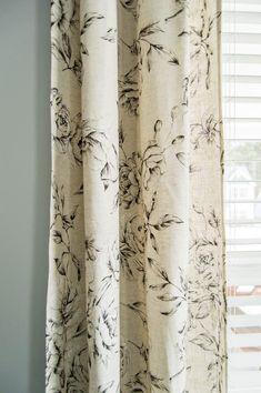 Farmhouse style bedroom joanna gaines curtains 34 Ideas ... on Farmhouse Bedroom Curtain Ideas  id=59598