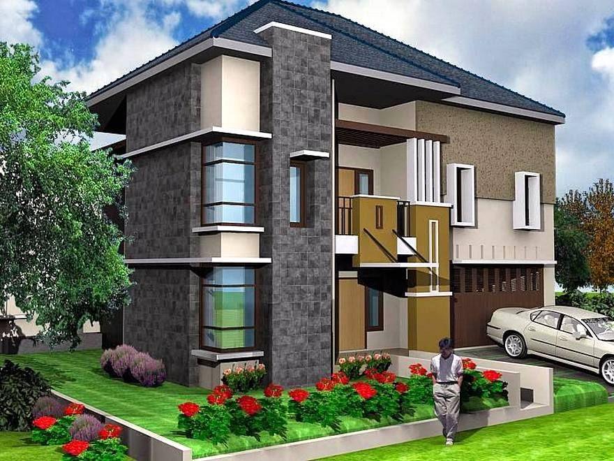 Desain Rumah Minimalis 2 Lantai 6x12 Lagi Ngetren | Rumah ...
