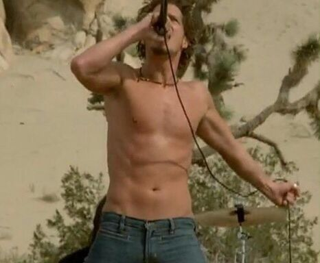Chris Cornell In The Video For Show Me How To Live Audioslave
