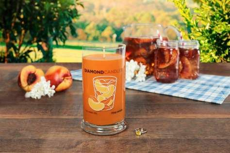 Sun Sweet Tea Ring Candle by diamondcandles