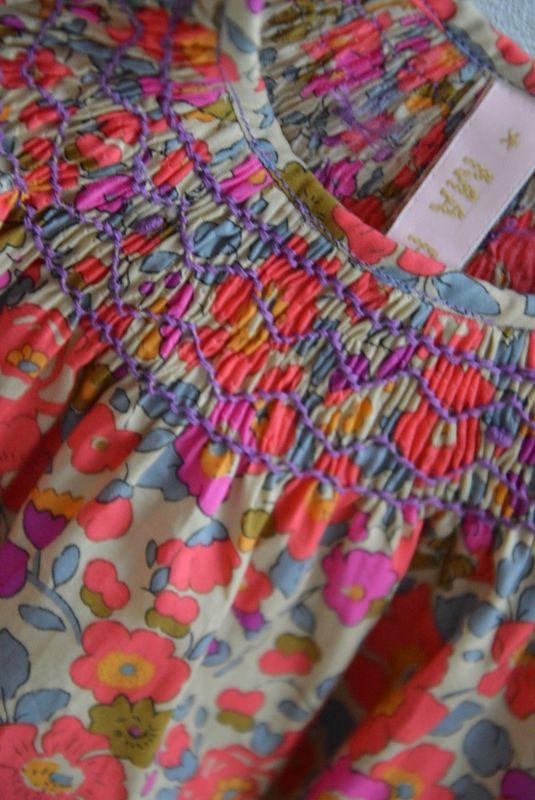 Smocks sur betsy fluo thé - Ma Prune Céleste | Smocked Clothing, Etc ...