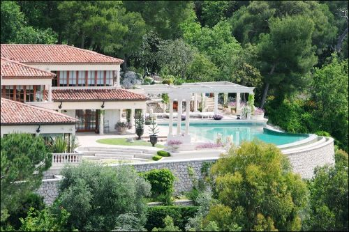 Tina Turner Villefranche French Riviera Le Castellet Houses
