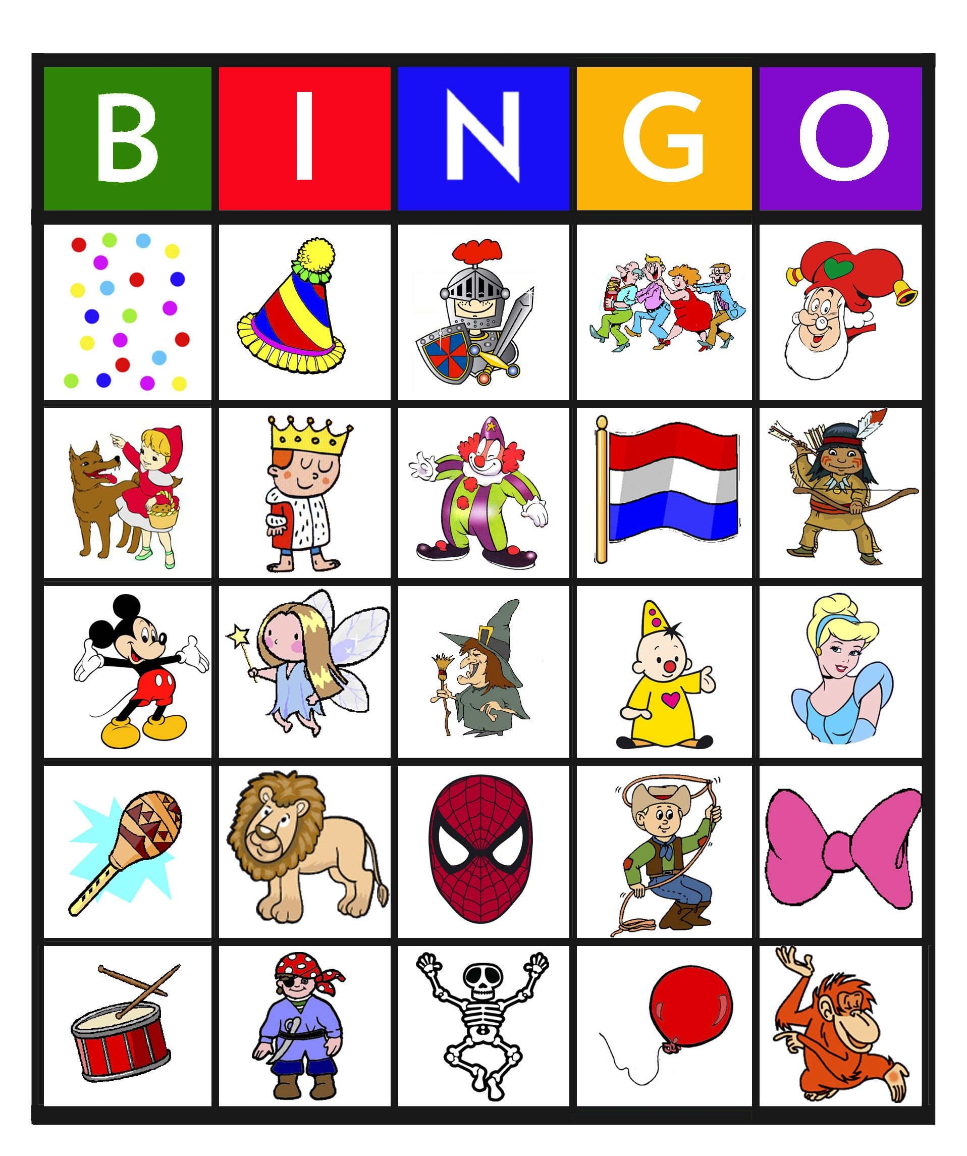 Super Bingo: carnaval 4 | bingo | Carnaval, Carnaval spelletjes @CK89