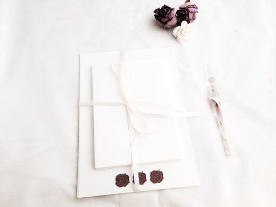 Stationery Set Letter Writing Set Gift for Her by wordsremember