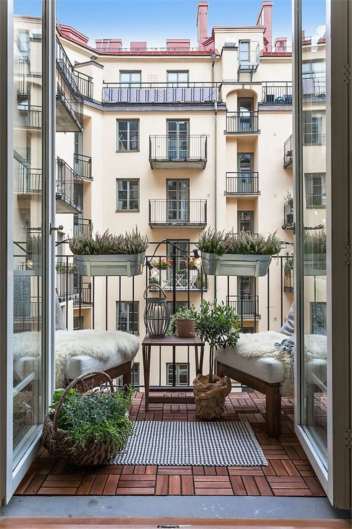 platzsparende moebel kleinen balkon gestalten kreative ideen ...