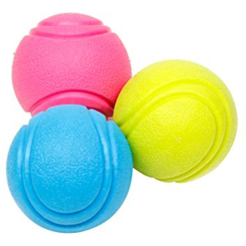 Ueetek 1 Pcs Pet Toy Balls Diamer 5 5cm Dog Puppy Rubber Tennis