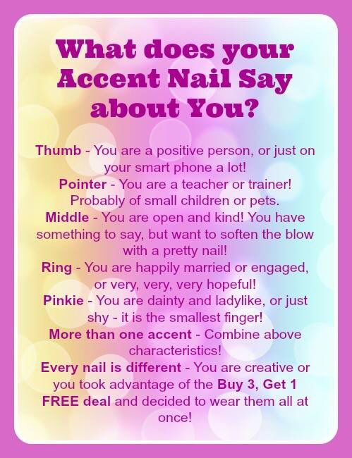 Whether you call it an accent nail, a party nail or finger ...