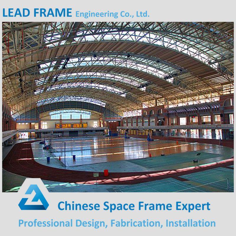 Prefab Steel Structure Roof Truss System Stadium Space