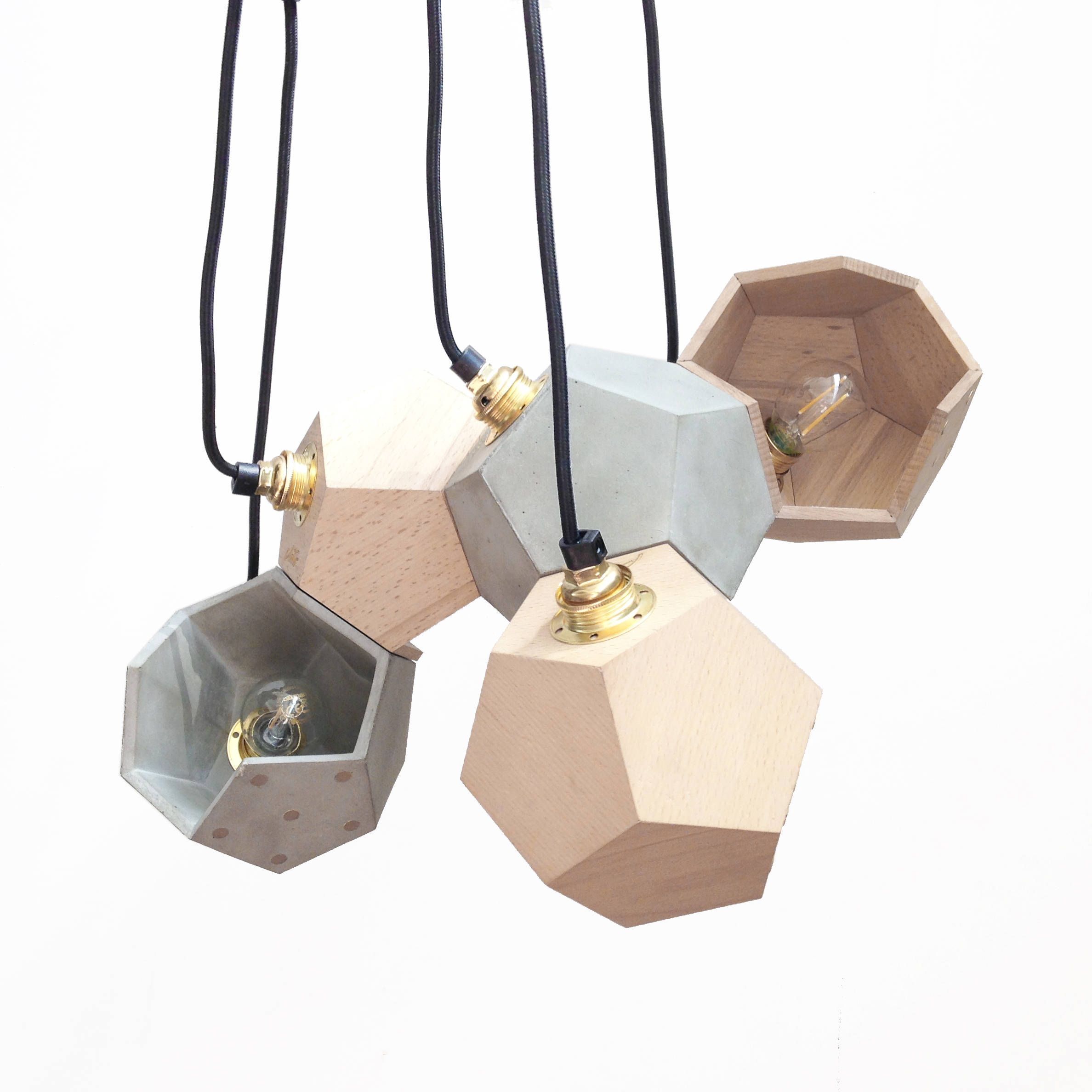 Basic Twelve Modular Pendant Lamp By Plato Design