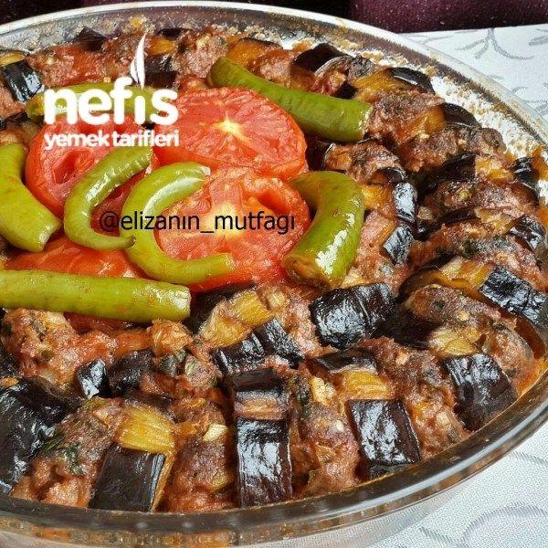 Kfteli Patlcan Kebab  gve  Recetas