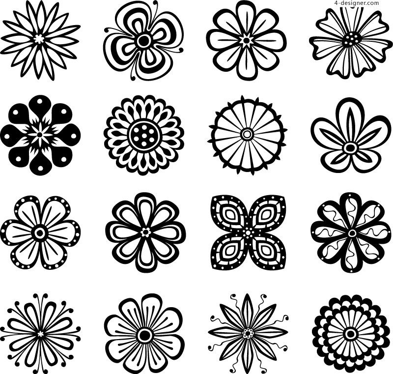 flower patterns - Google zoeken | Flower pattern drawing ...