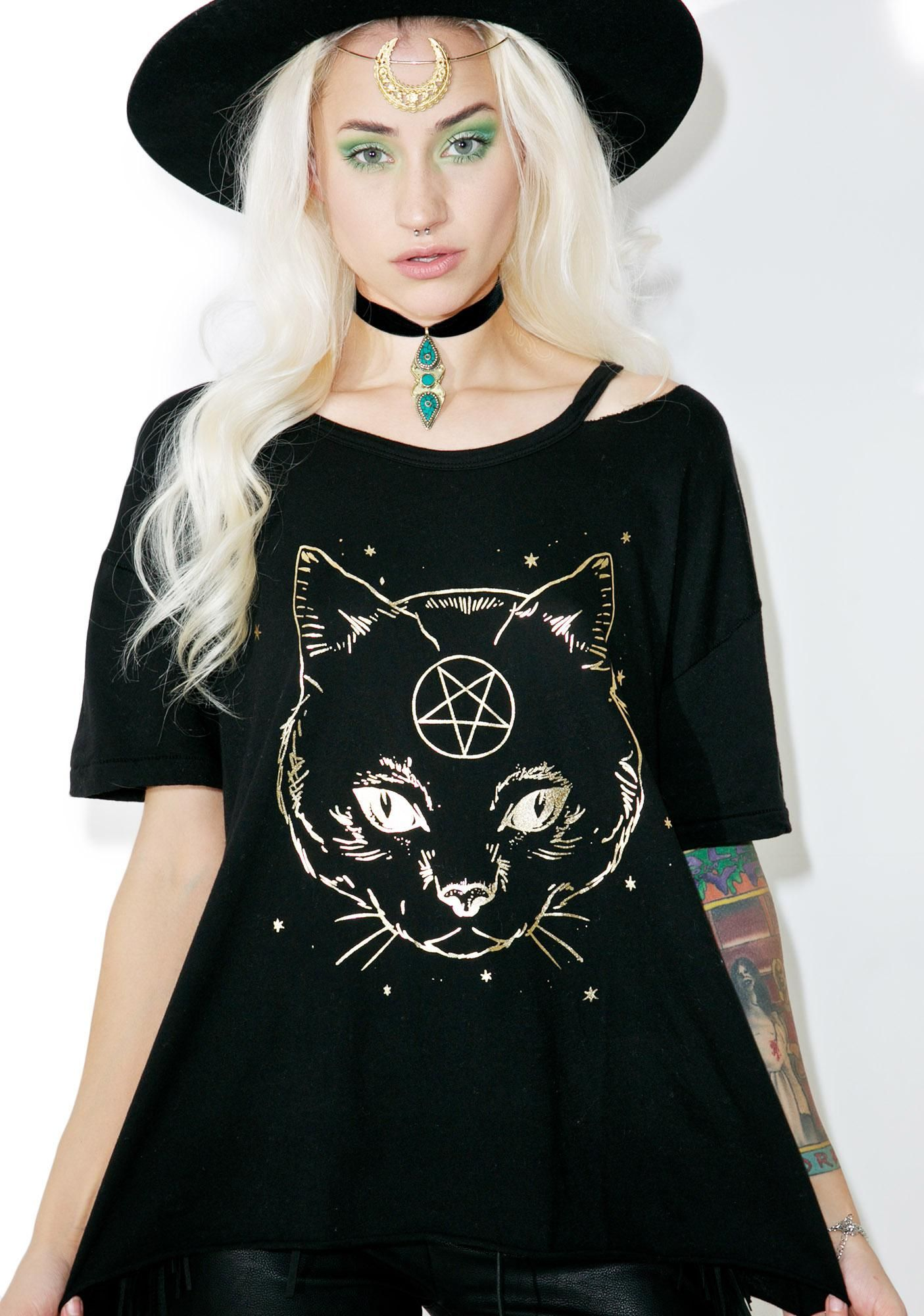 Wildfox Couture Magic Pet Alumni Tee thanks fer the new spell ... d28f101ae