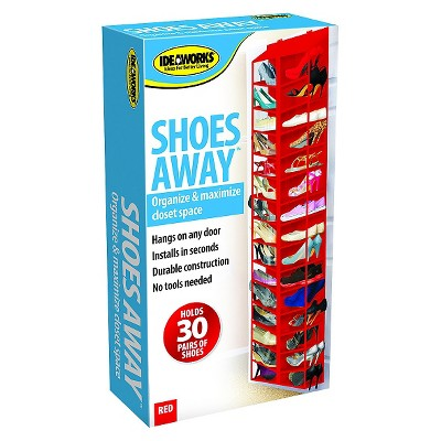 Ideaworks Shoes Away Red Shoes Organization