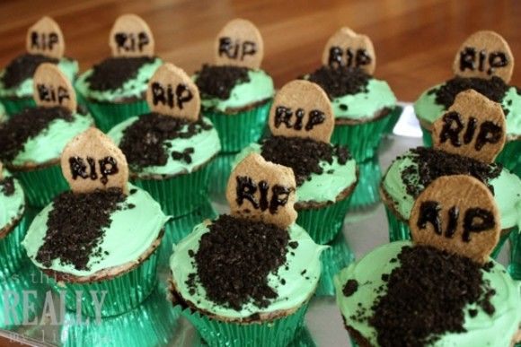 halloween cupcakes to make