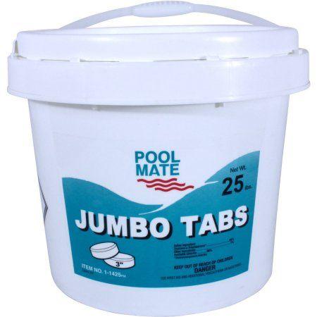 pool mate jumbo 3 inch chlorine tablets for swimming pools rh pinterest dk