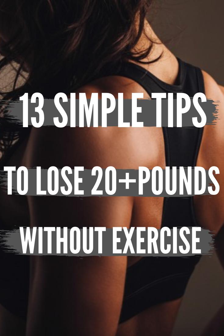 Photo of 13 einfache Tipps, um mehr als 20 Pfund abzunehmen, ohne Sport zu treiben oder zu verhungern