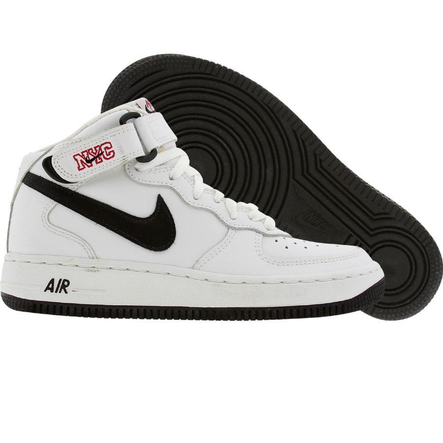 pretty nice 955a3 a6664 Nike Air Force 1 Mid Euro NYC Edition (white  black) 306603-101 - 129.00