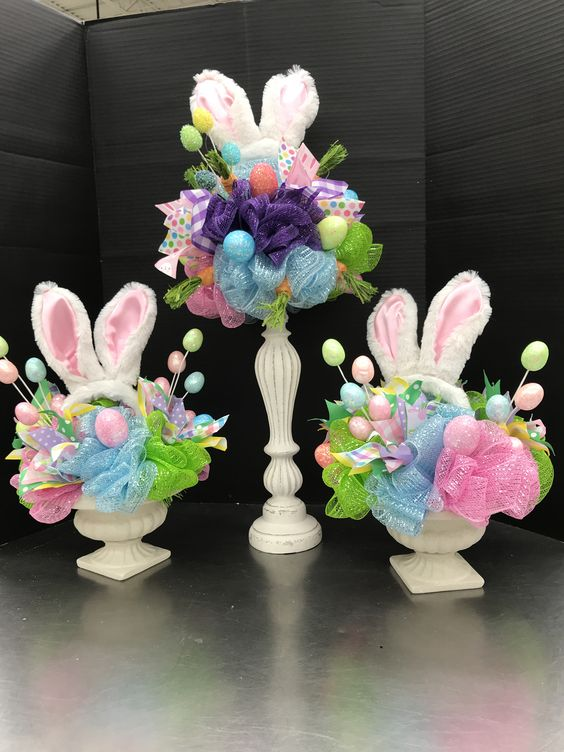 100 Dollar Store Easter Decorations that are simply Egg-cellent - Hike n Dip