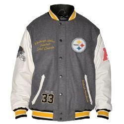 timeless design 23407 ee641 SALE Pittsburgh Steelers Vintage Heavyweight Wool Varsity ...