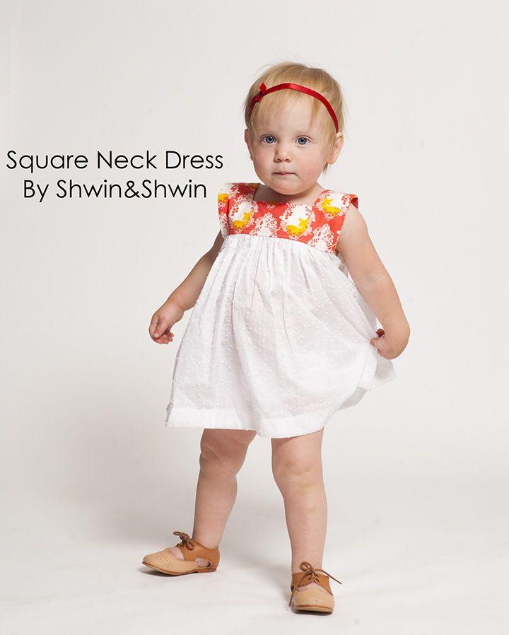 Shwin&Shwin: Square Neck Dress || Take 2 || Summer Collection | A ...
