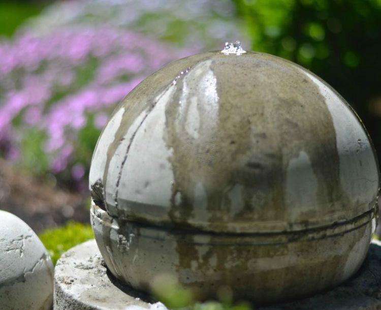 Garten Brunnen Selber Bauen Deko Beton Solar #garden